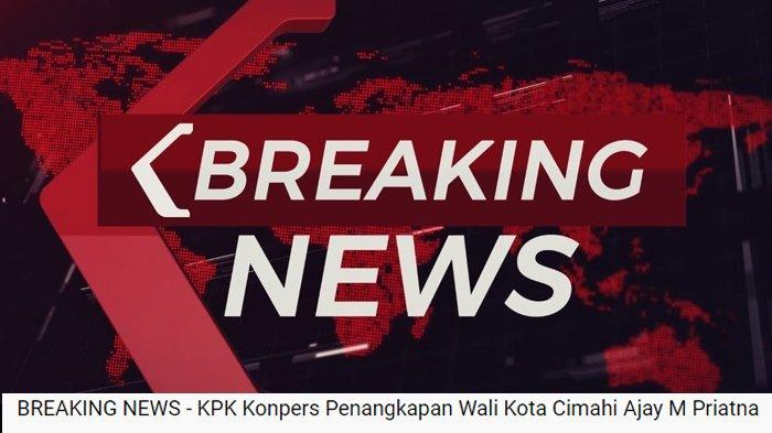 Live Streaming: Konpers KPK soal Penangkapan Wali Kota Cimahi Ajay Muhammad Priatna