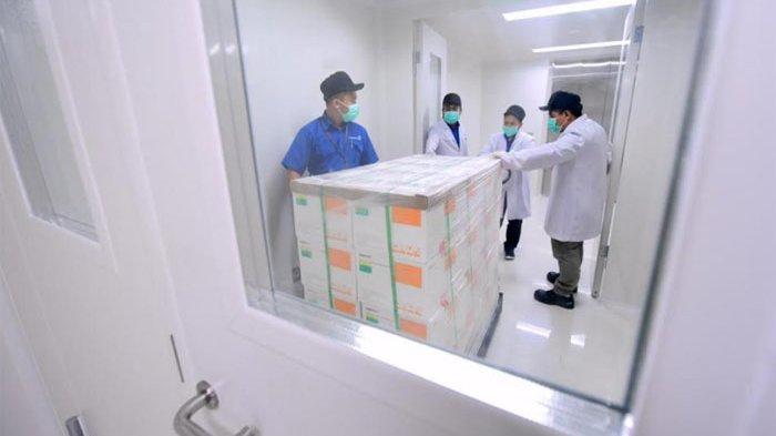 1,2 Juta Dosis Vaksin Sinovac Disimpan di Cool Room Bio Farma dengan Suhu 2 Derajat