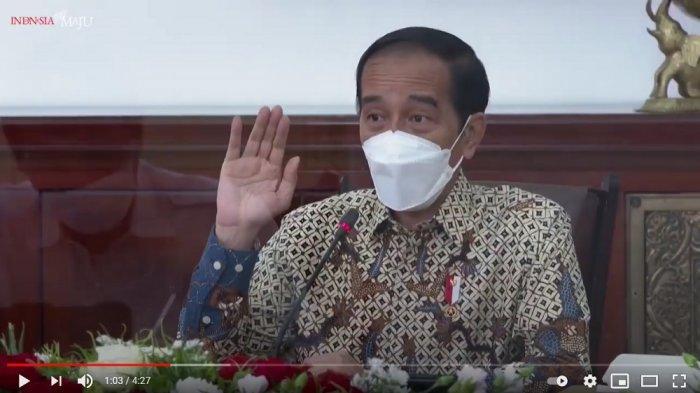 Pernyataan Lengkap Jokowi soal Penerapan PPKM yang Tidak Efektif hingga Ingatkan Ekonomi Turun